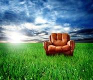 胳膊椅子 图库摄影