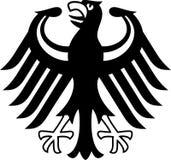 胳膊涂上德语 图库摄影