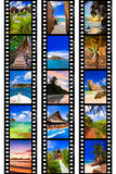 胶卷画面我的本质照片旅行 免版税库存照片