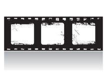 胶卷画面grunge向量 库存照片