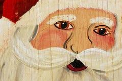 胶合板圣诞老人 免版税库存照片