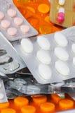 胶囊和片剂 免版税库存图片