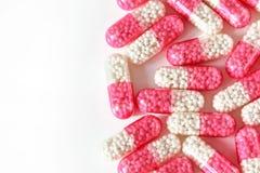 胶囊片剂 免版税库存照片