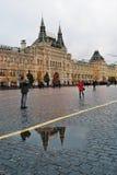 胶在莫斯科,俄罗斯 库存照片