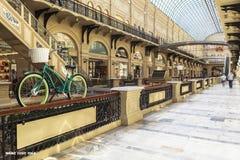 胶百货商店在莫斯科,俄罗斯 免版税图库摄影