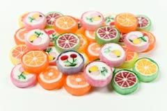 胶粘的熊糖果五颜六色的背景 免版税库存图片