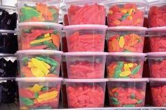 胶粘的糖果 免版税图库摄影