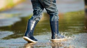 胶靴 免版税库存图片