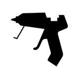 胶水枪 免版税图库摄影