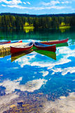 紫胶Beauvert,贾斯珀国家公园 免版税库存照片