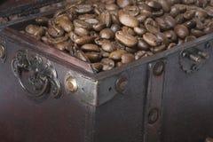 胸口咖啡 库存照片