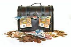 胸口货币 免版税图库摄影