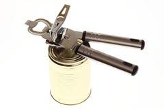 能与开罐头用具 免版税库存照片