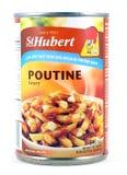 能圣休伯特Poutine小汤调味汁 免版税库存照片