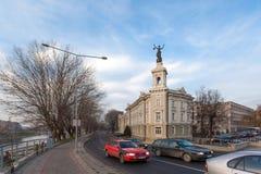 能学和技术博物馆在维尔纽斯 免版税库存照片