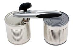 能开罐头用具二 免版税库存图片