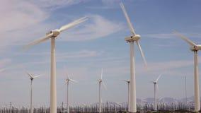 能承受的自然清洁能源-棕榈泉,加州 股票录像