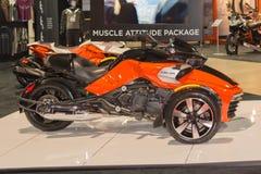 能是Spyder F3 2015年 免版税库存照片