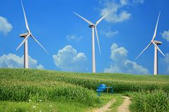 能源三方式 免版税库存图片
