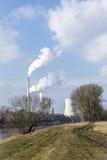 能源厂和自然 库存图片
