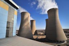 能源厂蒸汽4 库存图片