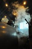能源厂蒸汽 免版税库存图片