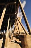 能源厂蒸汽 库存图片