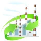 能源厂象 库存图片
