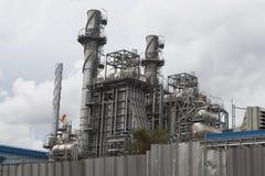 能源厂驻地大厦 免版税库存图片