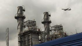 能源厂驻地大厦 库存图片