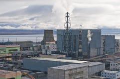 能源厂 免版税库存照片