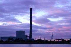 能源厂 免版税图库摄影