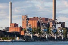 能源厂 免版税库存图片