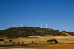 能源发电站风 库存图片