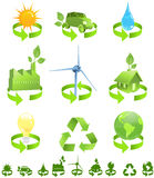 能源回收 免版税库存照片