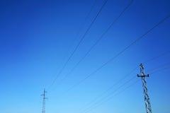 能源天空 免版税库存图片