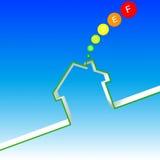 能源房子性能 免版税库存照片