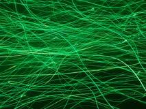 能源技术光丝带 免版税库存图片