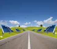 能源新的方式 免版税库存图片