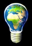 能源欧罗巴地球 库存图片