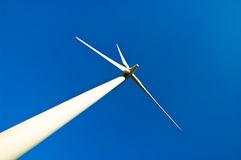 能源环境风车 免版税库存照片