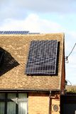 能源现有量查出的面板太阳星期日白色 图库摄影