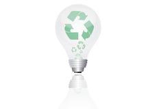 能源电灯泡保存 向量例证