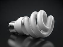 能源电灯泡 免版税库存图片