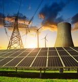 能源的概念 免版税库存图片
