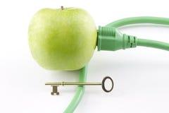 能源绿色关键字 免版税图库摄影