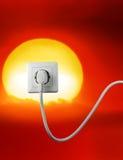 能源释放 免版税库存图片