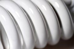 能源闪亮指示轻的节省额紫外白色 免版税图库摄影