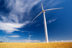 能源风 免版税库存照片