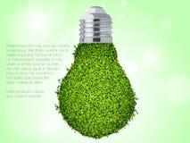 能源绿色图标 免版税图库摄影